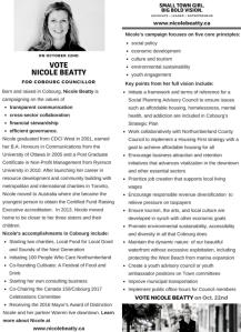 campaign brochure for website